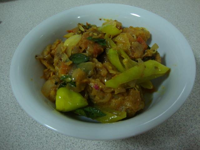 Chicken recipe-Chicken with Capsicum