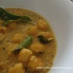 Chick pea curry (Kadala Curry)