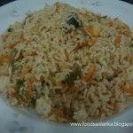 Vegetarian Spicy Fried Rice