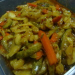 Nonya Acchar (A vegetable pickle in Malay/Chinese style)