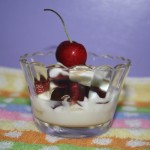 Yogurt and Cherry Parfaits