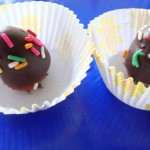 Chocolate covered Strawberry bites