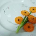 A Flower bunch from a Carrot