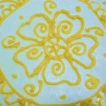 Starting of a new journey to explore cake decorating-Henna Cake