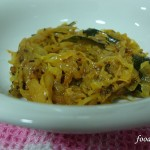 Cabbage Stir-fry in Sri Lankan style