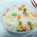 Fried Rice with mixed vegetables