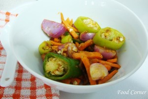 Sri Lankan Malay Pickle (Malay Achcharu)