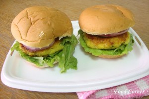 Easy to prepare Vegetarian Burger