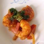 Stir-Fried Prawns