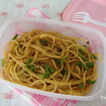 Simple & Easy Spaghetti dish with Black pepper sauce