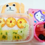 Bento #3 – Flower bed with Egg Sheets