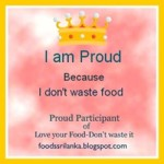 Love your Food- Don't waste it – Roundup