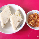 Mung Kiribath (Milk Rice with Mung Bean)
