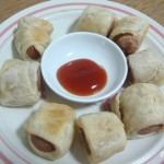 Wrapped Sausage Bites (Pigs in a Blanket? )