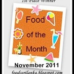 Food of the Month- Winners of November contest