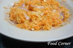 How to make Sri Lankan carrot sambal