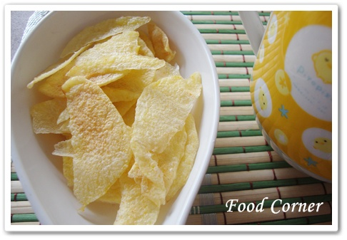 Potato Chips using Microwave