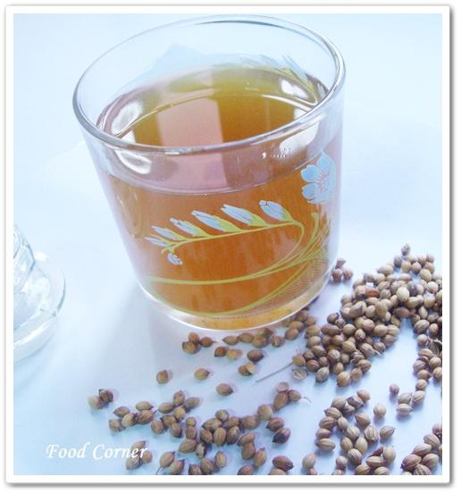Ginger Corriander tea