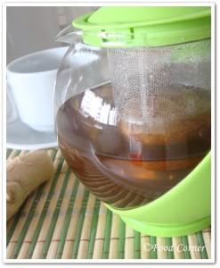 Sri Lankan Ginger Tea Recipe