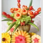 Rock Melon Centerpiece & Contest