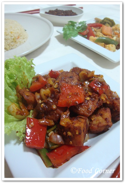 Chinese Chicken Devilled