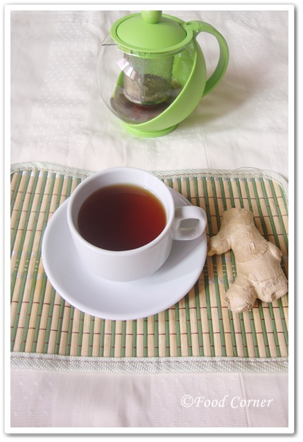 Ceylon Black Tea with Ginger