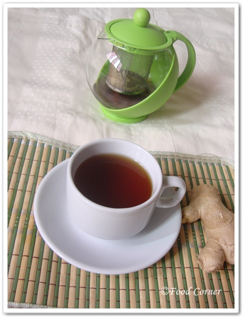 Sri Lankan Ginger Tea Recipe