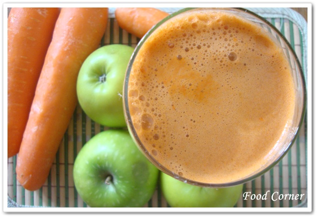 Carrot and Apple Juice-weight loss drink