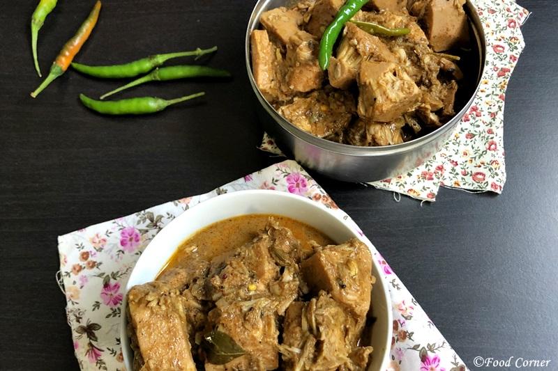 Baby jackfruit curry