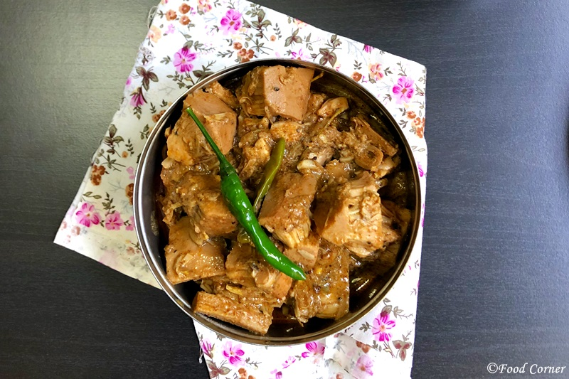 Green Jackfruit curry