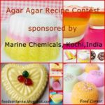 Agar Agar Recipe Contest Sponsored by Marine Chemicals, Kochi,India