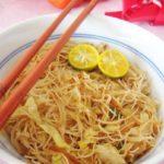 Vegetarian Fried Bee Hoon (Fried Rice Vermicelli)