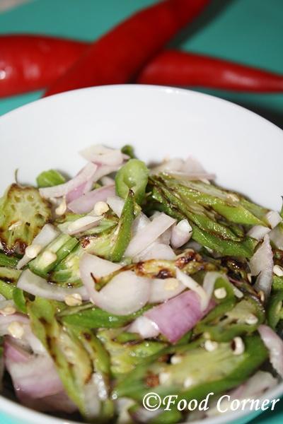Bandakka  Salada