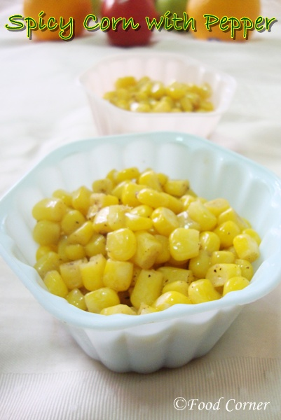 Spicy Corn with Pepper