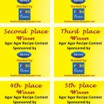 Agar Agar Recipe Contest – Extended until 28th February