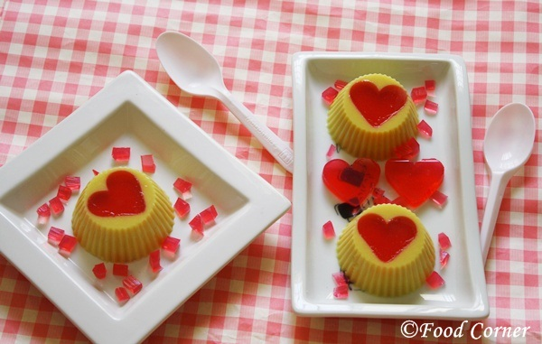 Valentine's day pudding recipes