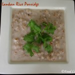 Sri Lankan Red Rice Porridge/Rathu Kakulu Hal Kanda