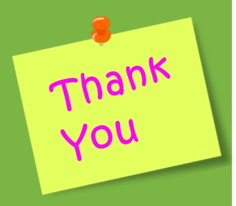 Thank you Blog Followers