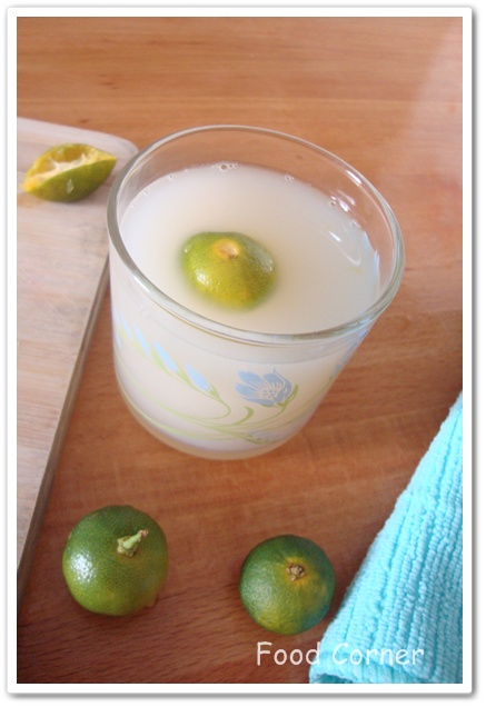 Lime Barley Drink Recipe