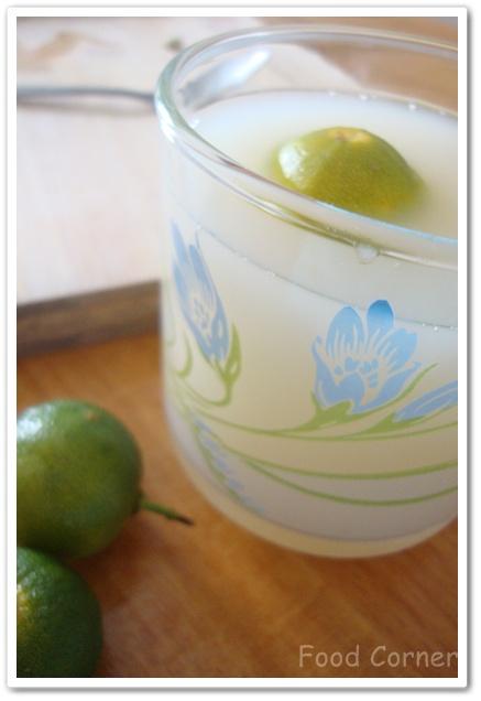 Lime Barley Drink Recipe