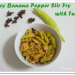 Spicy Banana Peppers Stir Fry with Canned Tuna