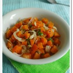 Steamed Carrot Salad