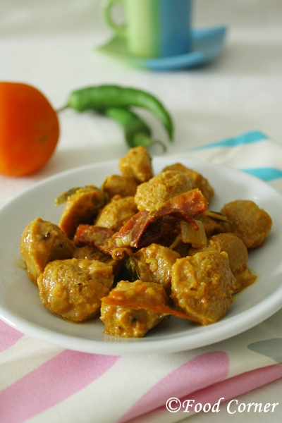 Sri Lankan Soya Meat Curry