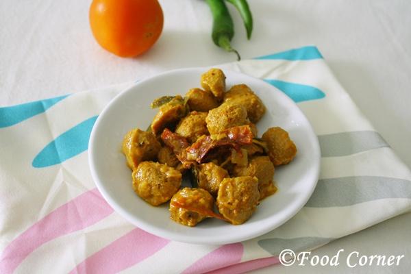 Sri Lankan Soya Meat Curry