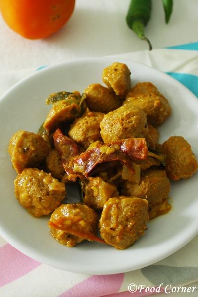 Sri Lankan Soya Meat Recipe