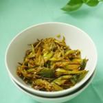 Sri Lankan Green Beans Fry / Bonchi thel dala