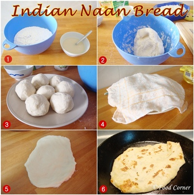 How to cook Indian Naan Bread on the stove top