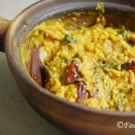 Sri Lankan Dhal Dry Curry/Parippu Curry