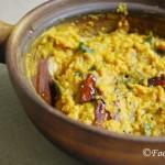 Sri Lankan Dhal Dry Curry/Parippu Curry