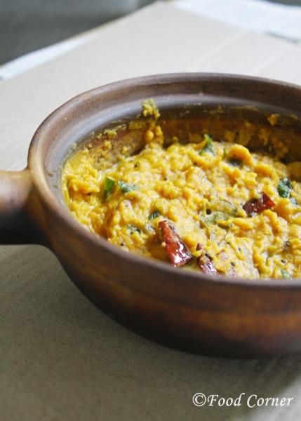 Sri Lankan Food-Dhal curry